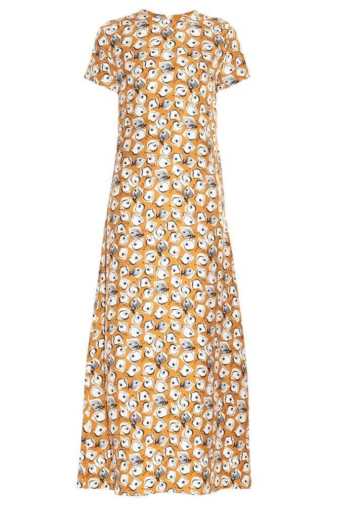"""<a href=""""http://www.matchesfashion.com/au/products/La-DoubleJ-Editions-Pescilini-silk-maxi-dress-1044052"""">Dress, $333 (was $555), <strong>LA DoubleJ Editions</strong> at matchesfashion.com</a>"""