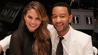 Chrissy Teigen Shares Adorable Photos From Her Baby Shower