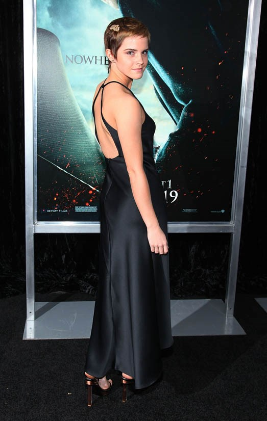 <strong>Emma Watson, November 2010</strong> <br><br> New York Premiere of <em>Harry Potter and the Deathly Hallows: Part 1</em>.