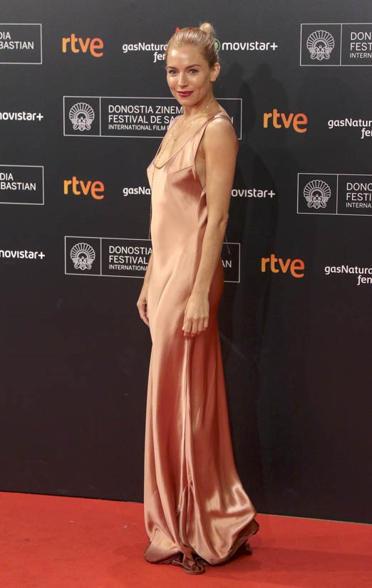 <strong>Sienna Miller, September 2015</strong> <br><br> Premiere for <em>High-Rise</em> at the San Sebastian Film Festival.