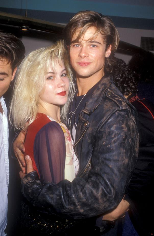 BRAD PITT AND CHRISTINA APPLEGATE<P> <P> Before there was Ange, before there was Jennifer, even before there was Gwyneth – there was Christina. The frazzle-haired couple's relationship was fleeting but beautiful.