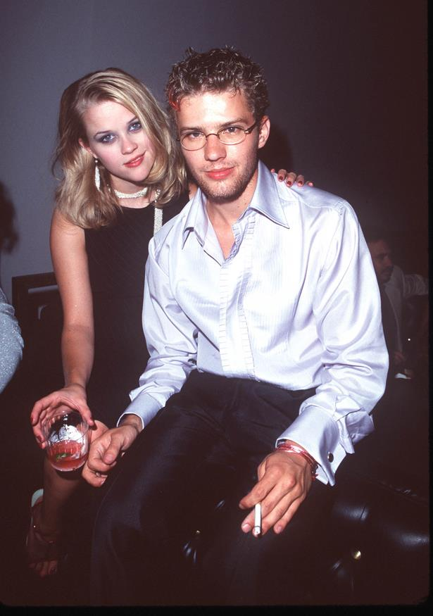 **Reese Witherspoon and Ryan Phillippe** <br><br> Reese and Ryan's rocky relationship did make it out of the '90s, but not much further. The two called it quits in 2007 after two kids.