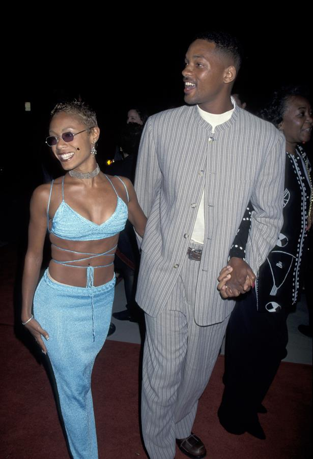 **Will Smith and Jada Pinkett-Smith** <br><br> 20+ years and still going strong. Will Smith and Jada Pinkett were our #relationshipgoals then and even after their recent relationship drama, they're definitely still our #parentinggoals.