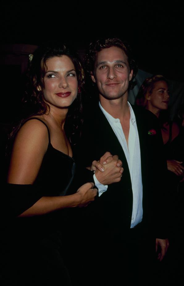 Sandra Bullock and Matthew McConaughey <br><br> Imagine this '90s super-couple in 2020, Oscars in hand.