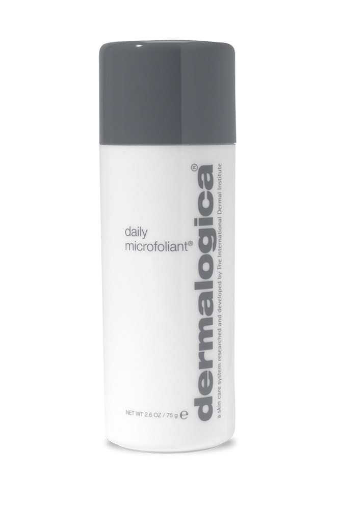 """<strong>Elle McClure, digital producer</strong><BR> This exfoliant is effective enough to give my often-tired skin a lift by sloughing away dead cells, yet gentle enough to use every day (which I do, because the clear-skin-feeling is so damn addictive).<BR> <em>Daily Microfoliant, $73, Dermalogica, <a href=""""http://www.dermalogica.com.au/"""">dermalogica.com.au</a></em>"""