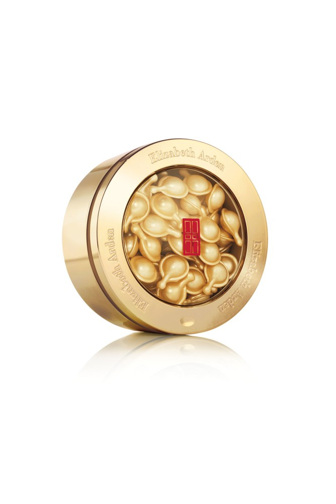 """<strong>Brooke Bickmore, workflow director</strong><br> My MVPs for year-round great skin are equal winners from Elizabeth Arden, and Dior.<br> <em>Ceramide Capsules Daily Youth Restoring Serum, $130 for 60 capsules, Elizabeth Arden, <a href=""""http://www.elizabetharden.com.au/"""">elizabetharden.com.au</a></em>"""
