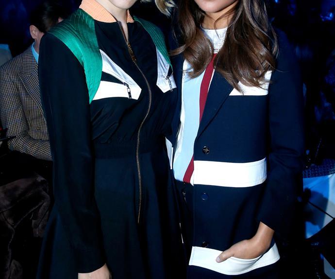Olivia Palermo at H&M during Paris Fashion Week