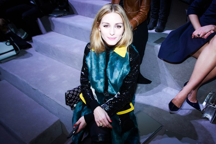 Olivia Palermo at Dior
