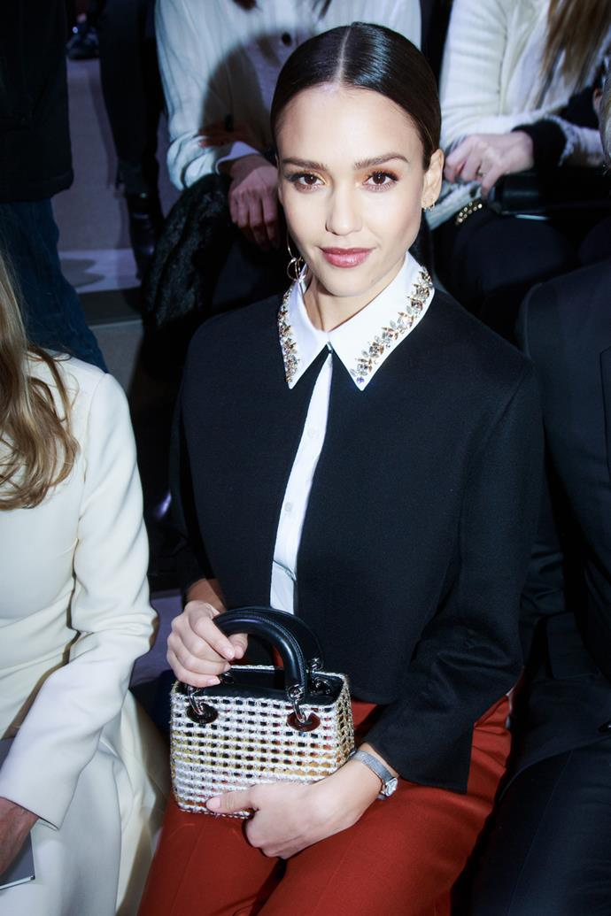 Jessica Alba at Dior