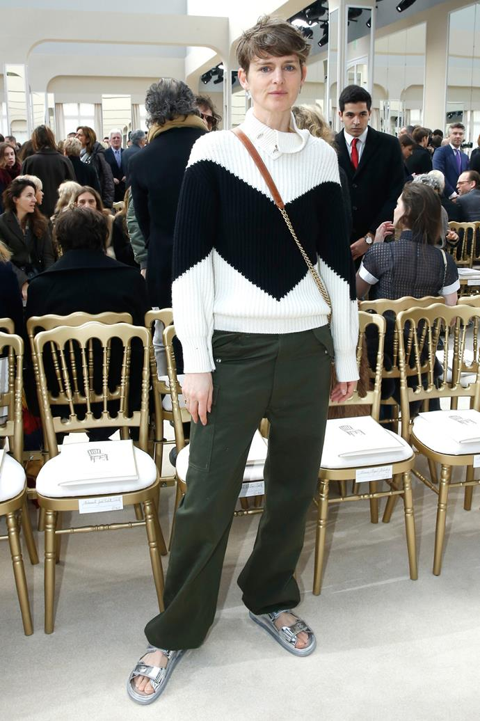 Stella Tennant at Chanel