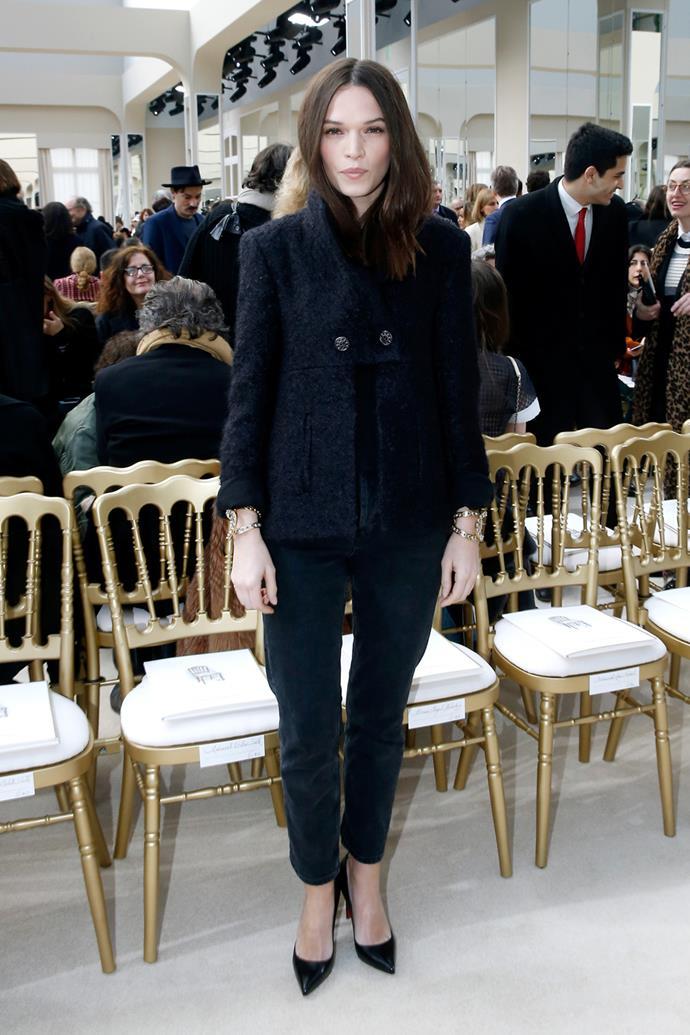Anna Brewster at Chanel