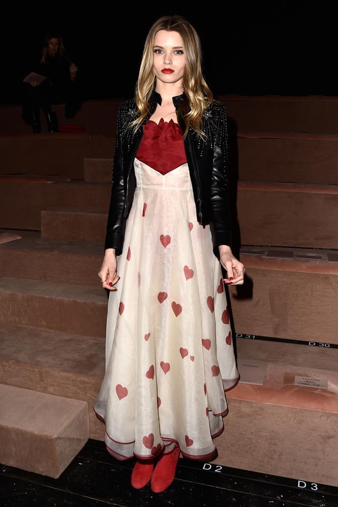 Abbey Lee Kershaw at Valentino