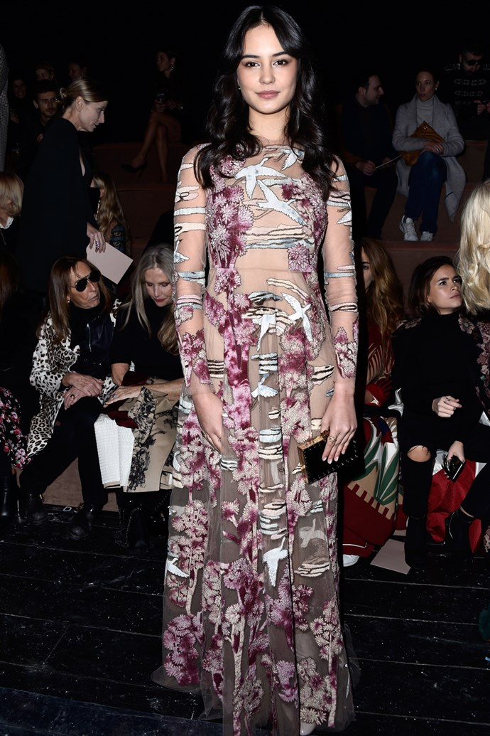 Courtney Eaton at Valentino
