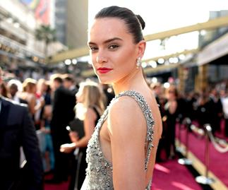 Daisy Ridley at the Oscars 2016.