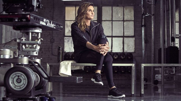 Caitlyn Jenner H&M Sports campaign.