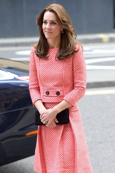 Kate Middleton Channels Jackie Kennedy Onassis In Plaid Suit
