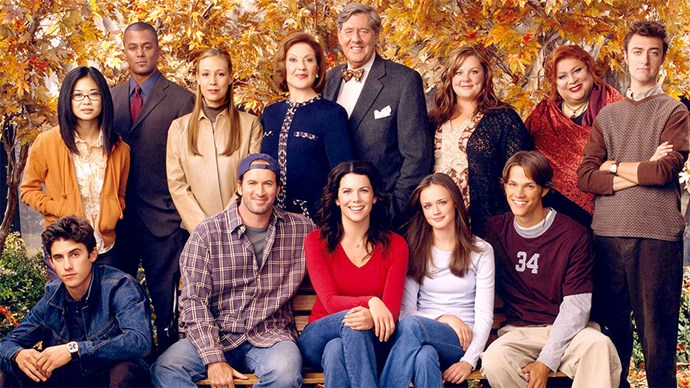 Gilmore Girls cast.