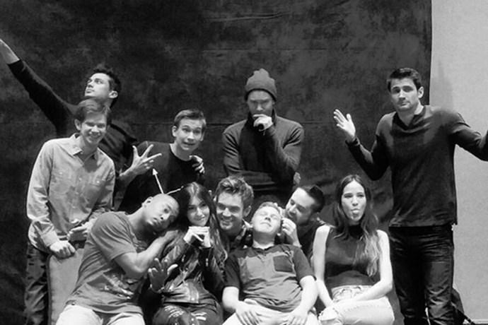 The cast, minus a few (namely Sophia Bush and Hilarie Burton).<br><br> <em>instagram.com/katevoegele</em>