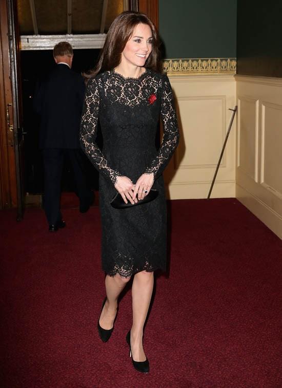 Wearing Dolce & Gabbana in November 2015.