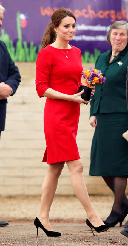 Wearing Katherine Hooker in November 2014.