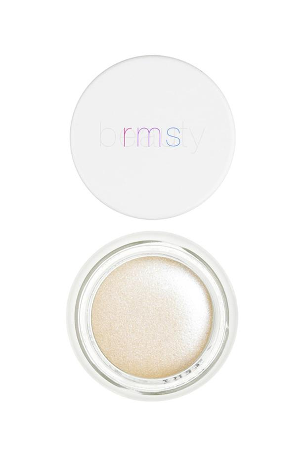 <p> The Highlighter: RMS Beauty Living Luminizer. <p> <p> The rap: If you're looking for a organic, vegan, buildable highlighter, this one's for you.<p>