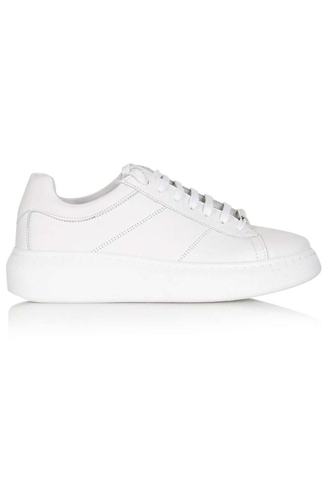 "<a href=""http://www.topshop.com/en/tsuk/product/shoes-430/sports-shoes-4966942/toulouse-lace-up-trainer-5087388?bi=0&ps=20"">Trainers, $99, Topshop</a>"