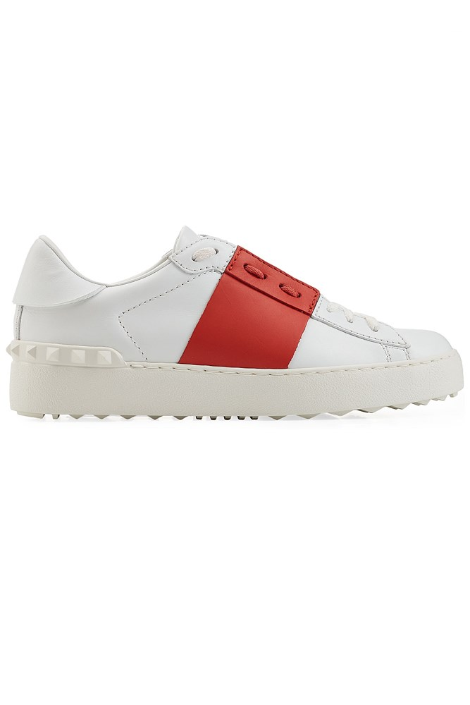 """<a href=""""http://www.stylebop.com/au/product_details.php?id=657937"""">Sneakers, $555, Valentino at stylebop.com</a>"""
