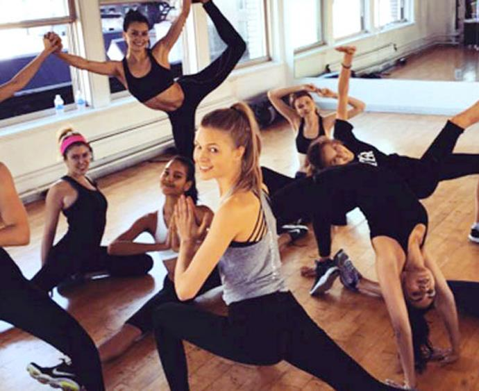 The Skinny Bitch Collective workout class