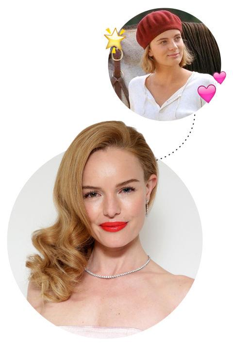 """<p> Kate Bosworth <3s Gabrielle Anwar<p> <p> """"I was really obsessed with <em>Wild Hearts Can't Be Broken</em> and with Gabrielle Anwar in that movie. I'm an equestrian so I would watch it all the time. I watched it countless times. I have to go back and watch it now."""""""