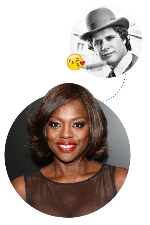 """<p> Viola Davis <3s Ben Murphy in <em>Alias Smith and Jones</em><p> <p> """"Oh my God, I'll tell you who. Now see, this is showing my age, but Ben Murphy in <em>Alias Smith and Jones</em>. I would look at it in reruns, too, and then, when he would come on screen, oh, my heart would palpitate! I'd think to myself if I ever met him—he's probably 70 years old now—I would have a heart attack. That was definitely it for me. I know it's probably boring but, listen, I'm 50, so it's Ben Murphy."""""""
