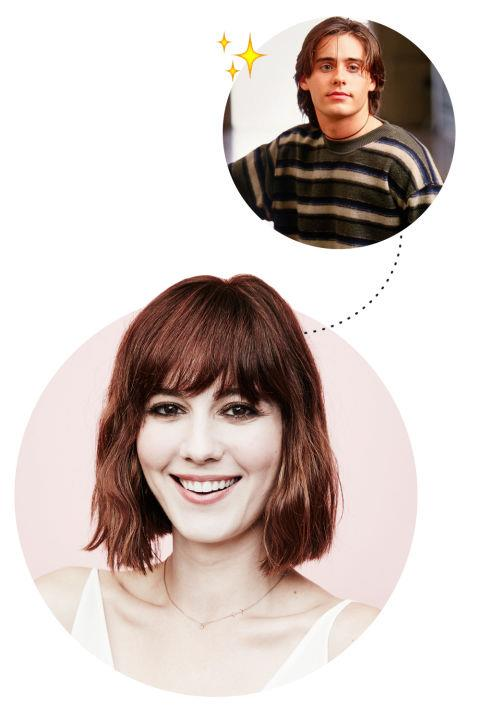 """<p> MARY ELIZABETH WINSTEAD <3S JORDAN CATALANO<p> <p> """"Jared Leto in <em>My So-Called Life</em>. The hair, the eyes. His bad attitude when I was 10 was really attractive. Now I'm like, 'What was I thinking? That character was not cool.' He totally sucks. That just goes to show that when you're young you don't know how to pick them."""" <p>"""