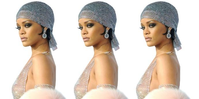 Rihanna at the CFDA Awards.