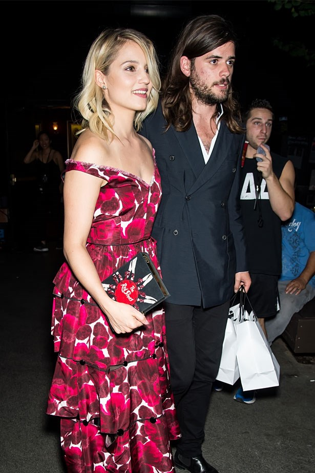<strong>Dianna Agron and band member of Mumford & Sons Winston Marshall</strong> announced their engagement over the New Year.