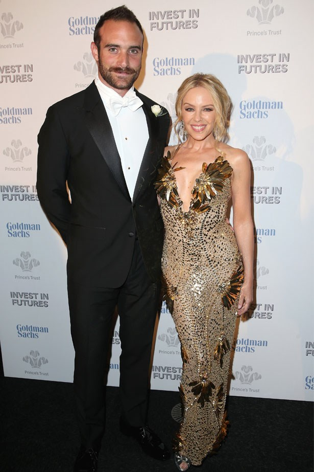 <strong>Kylie Minogue and Joshua Sasse</strong> confirmed their engagement in February.