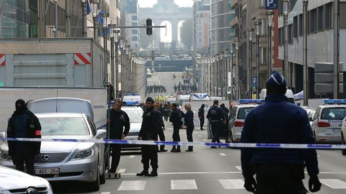 Brussels terrorist attacks 2016.