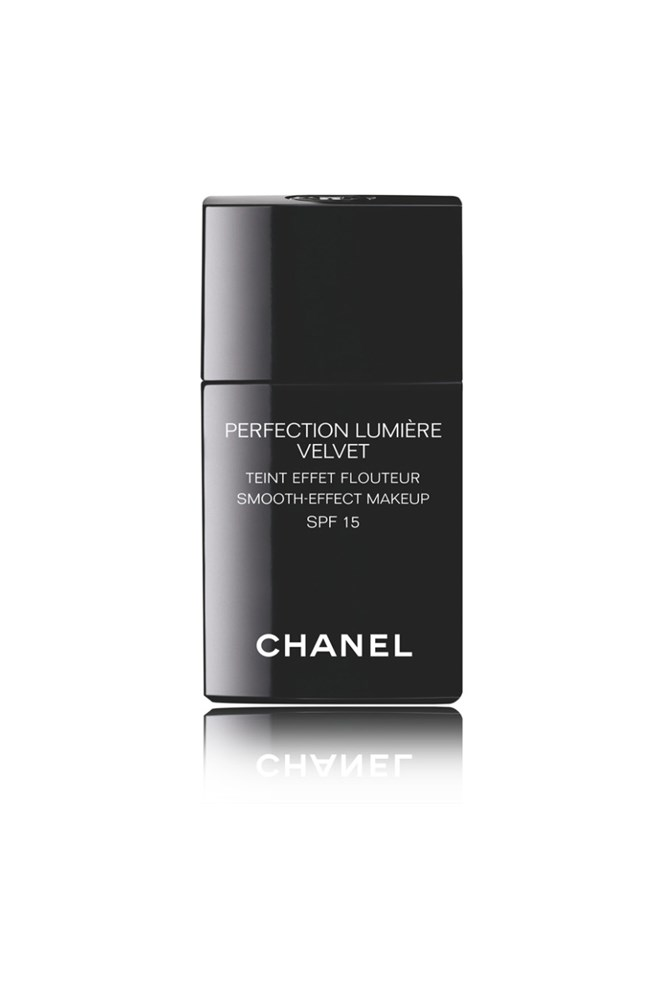 "<strong><a href=""http://www.chanel.com/en_AU/fragrance-beauty/makeup.html"">Perfection Lumiere Velvet Smooth-Effect Makeup SPF15, $77 for 30ml, Chanel</a></strong><br> This is beauty and fitness director Janna O'Toole's holy grail for a matte, medium finish to her combination skin."