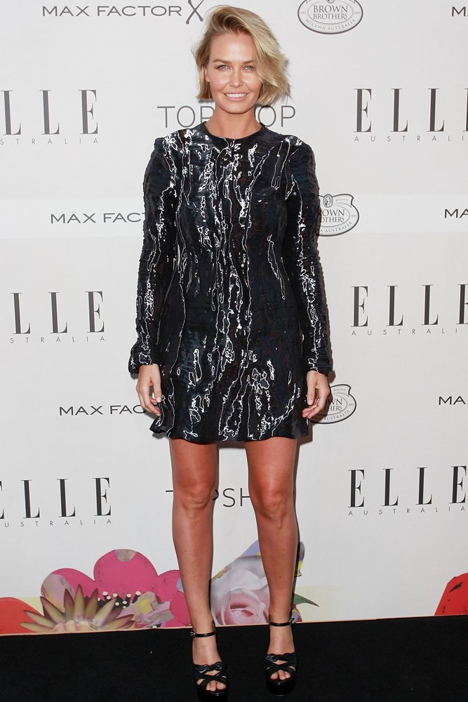 In Ellery at the October 2015 <em>ELLE </em>Style Awards.