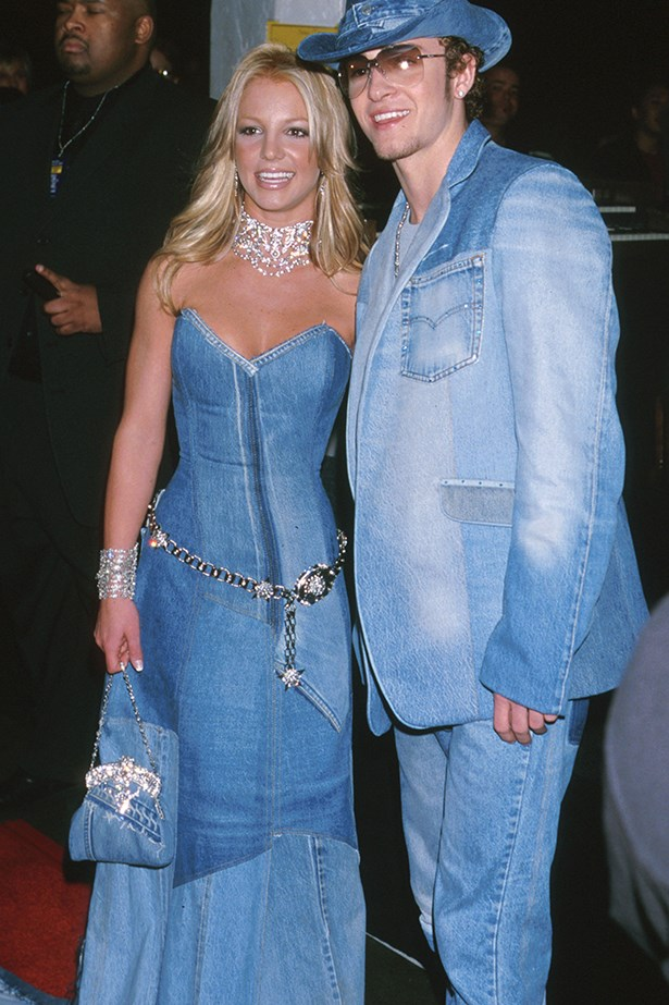 "<strong>Britney Spears and Justin Timberlake</strong><br> ""I think we can agree that JT and Britney were all-time, and this look was one of their most memorable moments. As a fervent supporter of the Canadian tux, seeing this snap appear in my Google image search all these years later lights a gentle fire in my heart. I only hope I bring this much tenacity to my own couple-dressing endeavours (John, are you reading this?)."" —Laura Collins, features and culture editor"