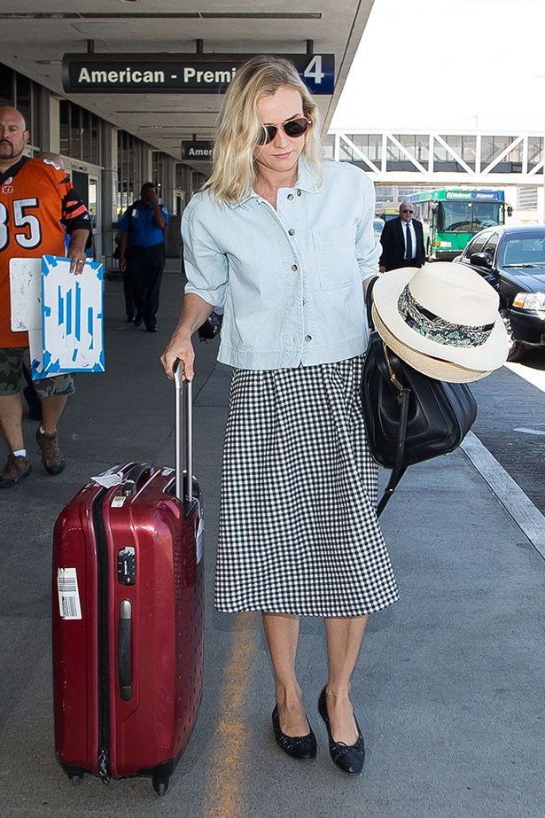 "<strong>Diane Kruger</strong><br> ""Jackets, mini-skirts, overalls, skinnies, shirts, cut-offs – I think it's safe to say Diane Kruger has tried every sort of denim style you can imagine! I love that she isn't afraid to mix it up while always looking so effortlessly cool."" —Laura Culbert, acting chief sub-editor"