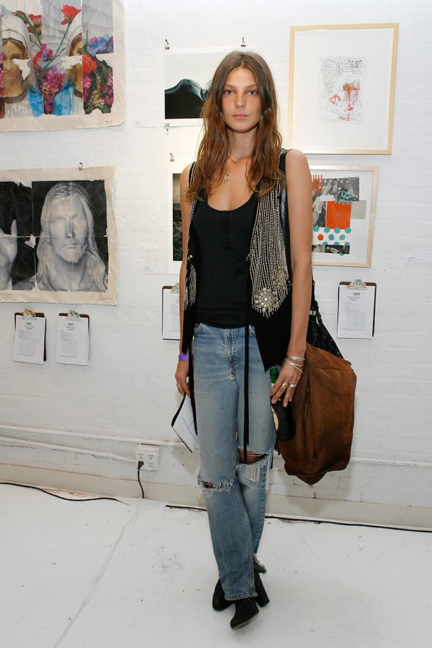 "<strong>Daria Werbowy</strong><br> ""How could she not inspire anyone?!"" – Carly Roberts, creative director"