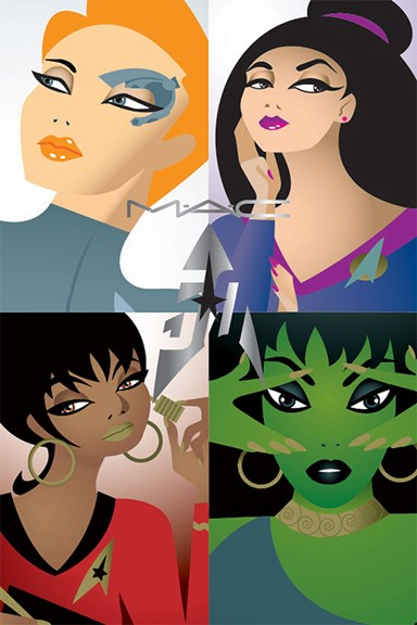 MAC Announces 'Star Trek' Collection