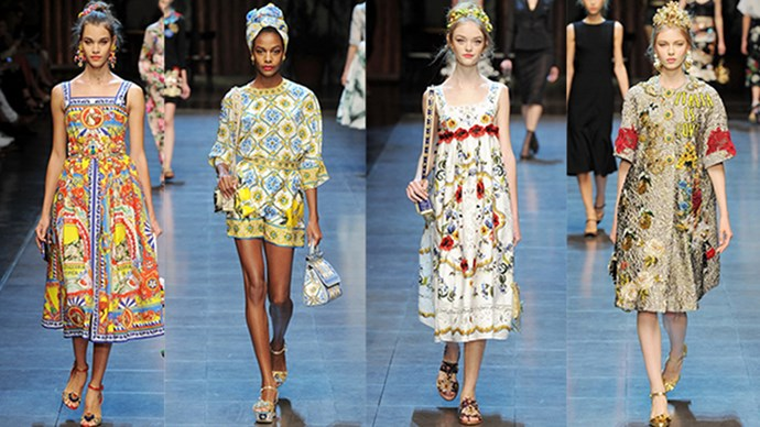Inspired by their own SS16 Runway collection, Dolce and Gabbana have collaborated with Smeg to create a stylish line of fridges.