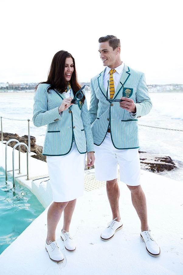 Australian Olympics Uniforms