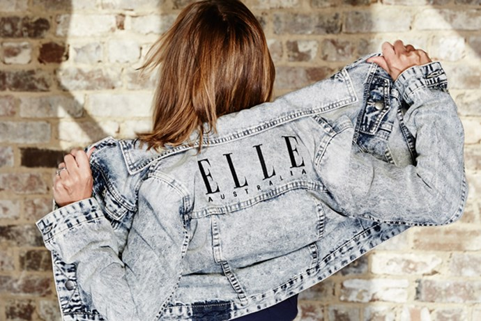 ELLE Australia denim jacket