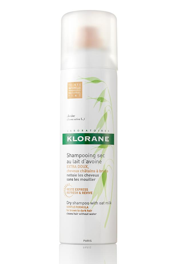 If Gwyneth swears by it, we're trying it. Paltrow names Klorane's Dry Shampoo as her blowout-extending secret weapon; we love the instant volume and oil absorption (plus how easy it is to find on our shores!). <br><br> <em>Tinted Dry Shampoo with Oat Milk, $14.95, Klorane, 1800 393 620</em>