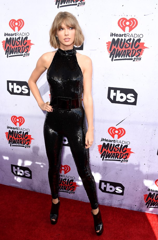 Taylor Swift at the 2016 iHeartRadio Music Awards.