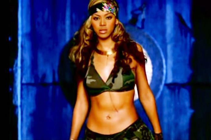 Still can't think of camo without immediately thinking of Destiny's Child's 'Survivor'.