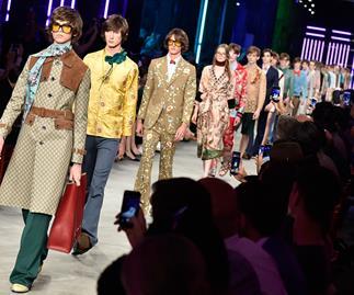 Gucci men's runway