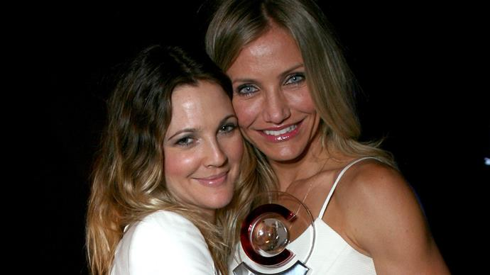Cameron Diaz and Drew Barrymore