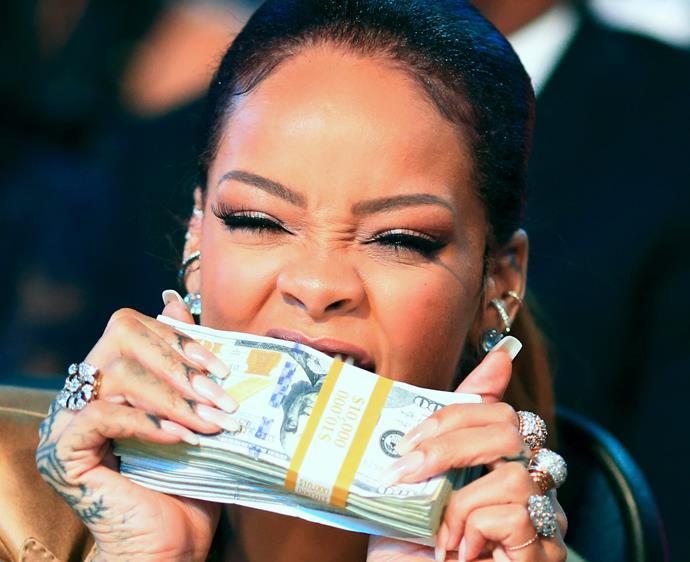 Rihanna money
